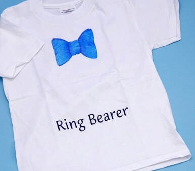 Ivy Lane Design 23V Ring Bearer T Shirt