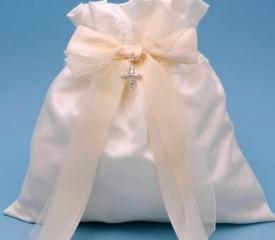 Ivy Lane Design 38MIT Grace Money Bag in Ivory