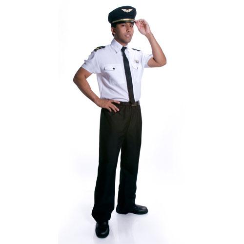 Dress Up America 331-XL Adult Pilot Costume - Size Xlarge
