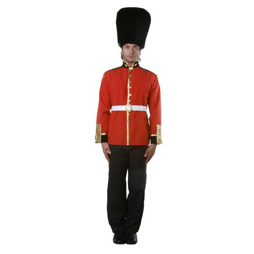 Dress Up America 346-S Adult Royal Guard Costume - Size Small