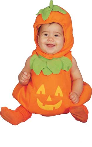 Dress Up America 275-24M Baby Pumpkin Costume Set - Size 12-24 Months