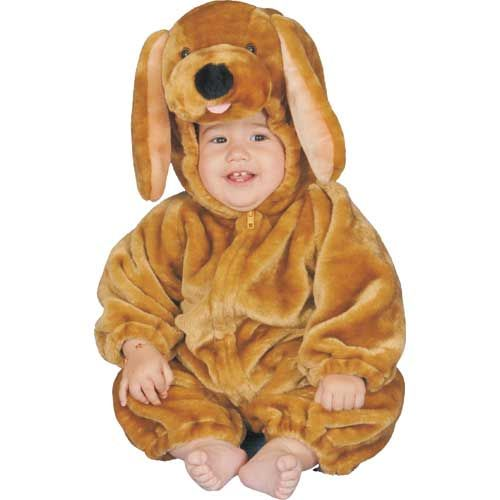 Dress Up America 318-12mo Brown Puppy Plush Costume - Size 12 Months