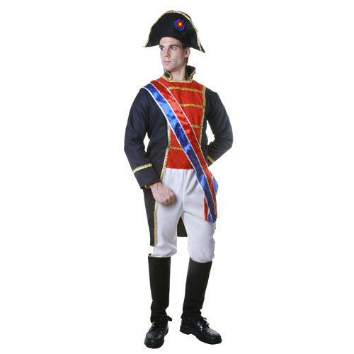Dress Up America 351-M Adult Napoleon Costume - Size Medium