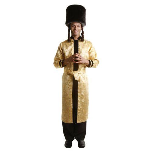 Dress Up America 352-L Adult Jewish Grand Rabbi Robe Costume - Size Large