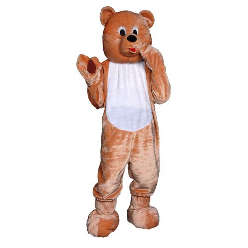Dress Up America 359-Adult Teddy Bear Mascot - One Size Fits Most