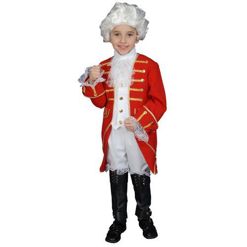 Dress Up America 377-T Victorian Boy Set Costume - Size Toddler T4