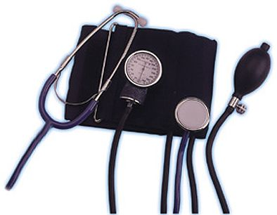 Lumiscope 100-019 Professional Self-Taking Blood Pressure Kit with Carry Case