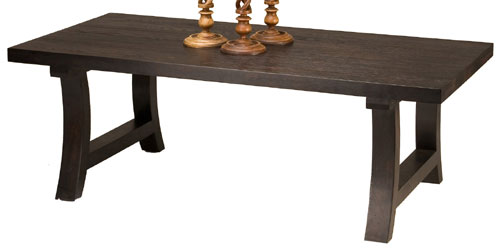Access Designer Decor 16A-1020-W Hearthstead Lightly Textured-Top Cocktail Table - Weathered Espresso