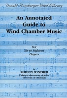 Alfred Publishing 00-DHBK04 An Annotated Guide to Wind Chamber Music - Music Book
