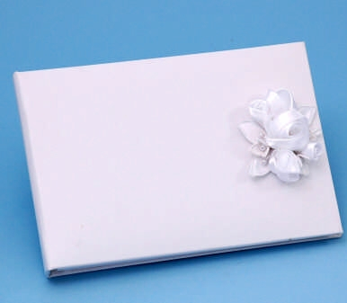 Ivy Lane Design 41A Amour Guest Book - White