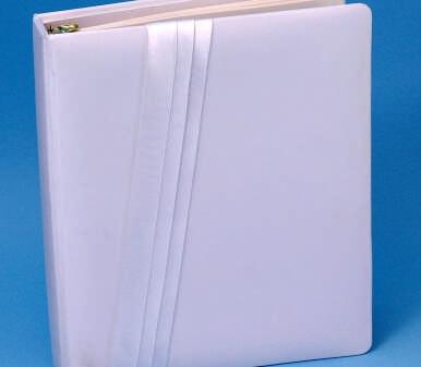 Ivy Lane Design 59D Audrey Memory Book - White