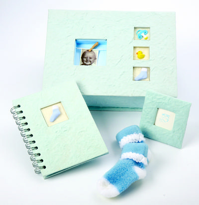 Ivy Lane Design 203BS Baby Boy Gift Set in Blue - Blue