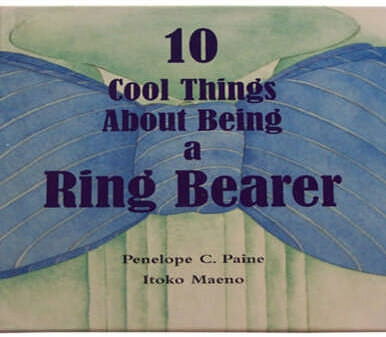 Ivy Lane Design 23R 10 Cool Things About Being a Ring Bearer Book