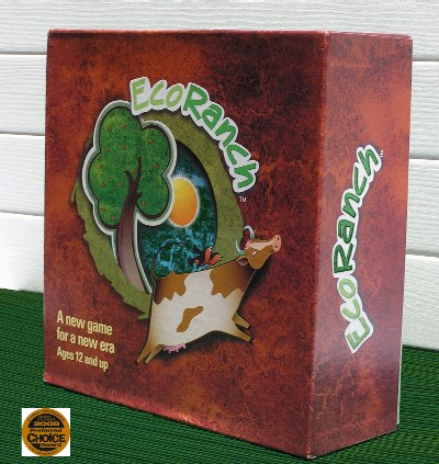 Enlightened Play EP0089254111 Ecoranch Board Game for Age 12+