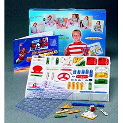 Kid Inventor K-320 Advanced Electronics Kit - 320 Projects