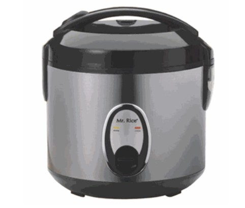 Sunpentown SC-0800S 4 Cup Rice Cooker With Stainless Steel Body