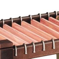 Woodlore 82062 Pant Trolley Bar - 5 Pack