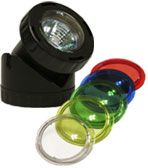 Alpine Corp PLM120 Power Beam 20 Watt Light Only 16FT Cord with color lenses with 20 FT extention