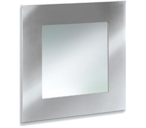 Blomus 68113 Stainless steel mirror 21.7 x 21.7 inch