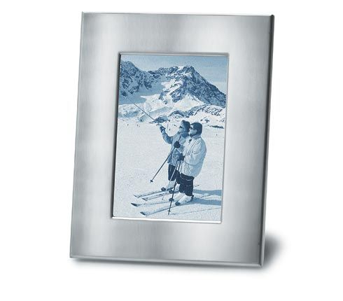 Blomus 68204 stainless steel picture frame for 5 x 7 inch pictures