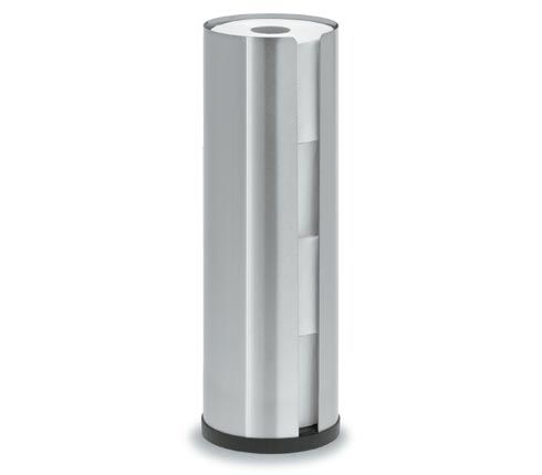 Blomus 68409 stainless steel toilet roll holder for 4 rolls