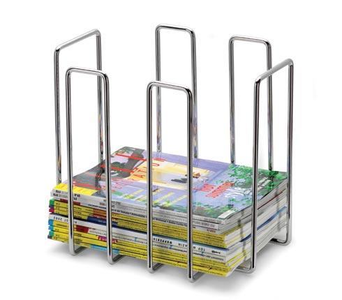 Blomus 68478 Metal-wire chrome-plated magazine rack