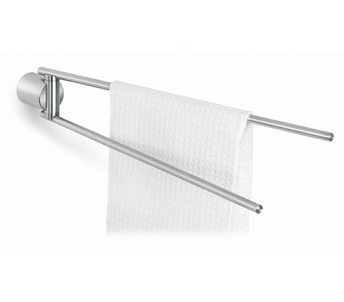 Blomus 68510 stainless steel swivel-type towel rail
