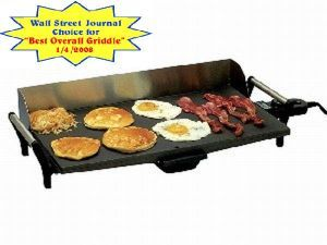 BroilKing Pro Gray Griddle With Stainless Handles And Backsplash - PCG-10