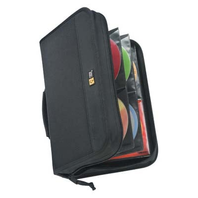 Case Logic CDW-92 CD Wallet- 92 Disc Capacit