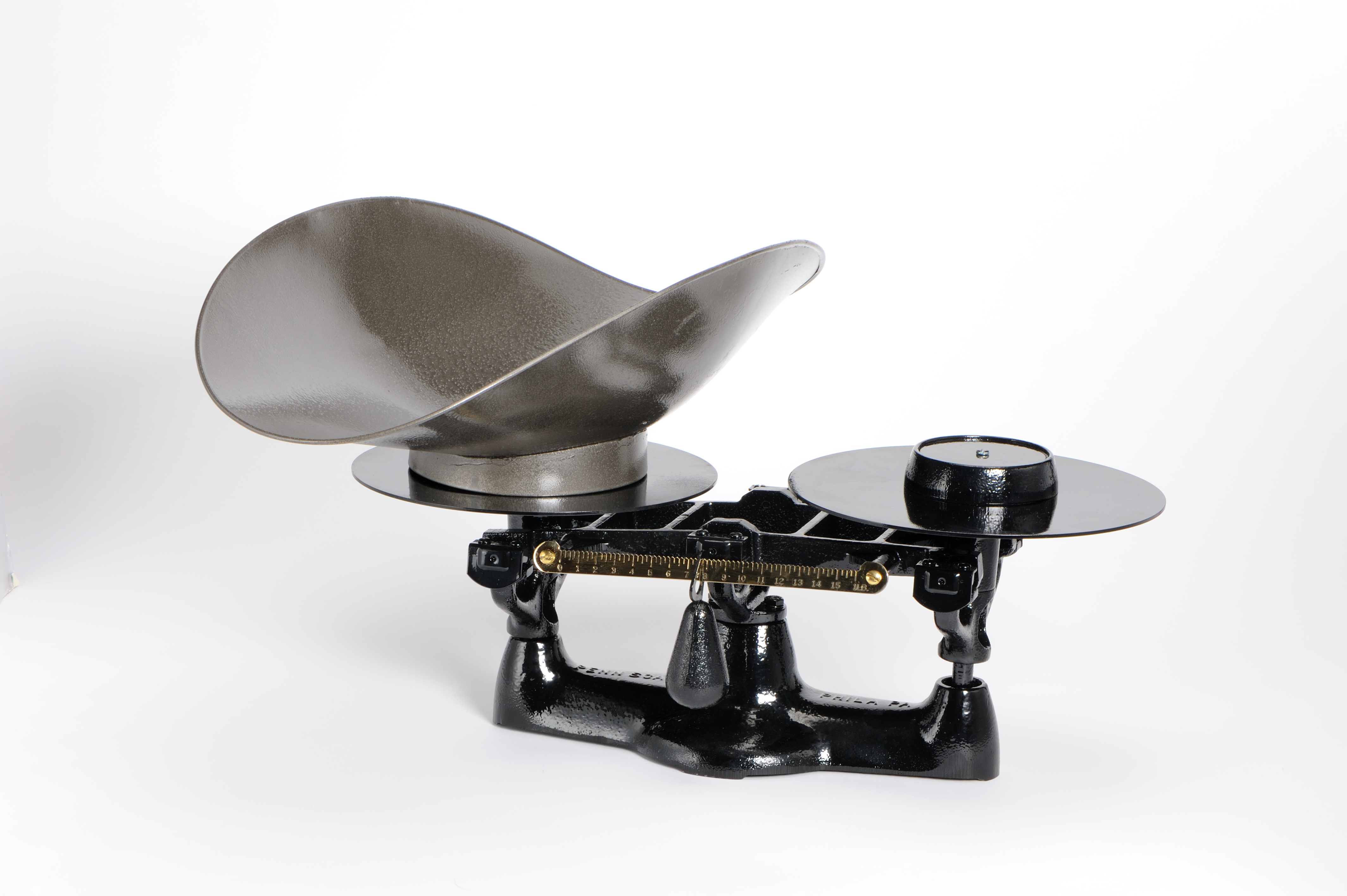 Penn Scale 1402 SS 8 Pound Bakers Scale with SS Scoop