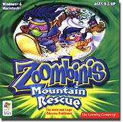 Learning Company 29300 Zoombinis - Mountain Rescue