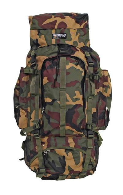 Extreme Pak Invisible Pattern Camouflage Heavy Duty 34 x 13   Mountaineers Backpack