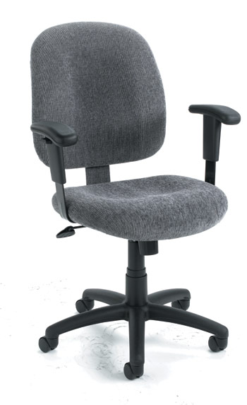 Boss Fabric Task Chair - B495 - Black