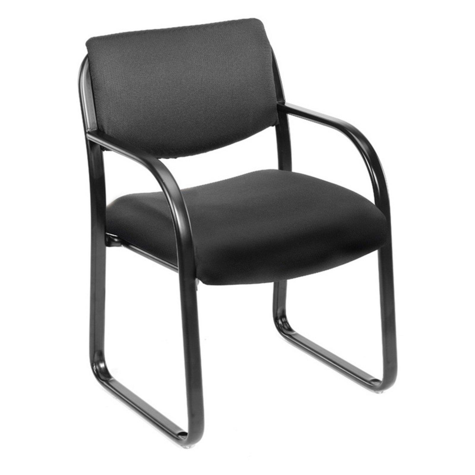 Boss Steel Frame Guest Chair - B9521 - Black