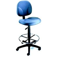 Boss Fully Adjustable Drafting Stool With Foot Ring - B1690 - Burgundy