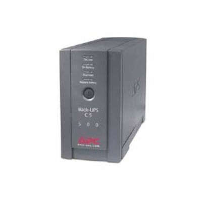 American Power Conversion-APC BK500BLK 500VA Back-UPS CS Black