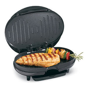 "Proctor-Silex 25218 32"" Square Cooking Compact Grill pack of 4"