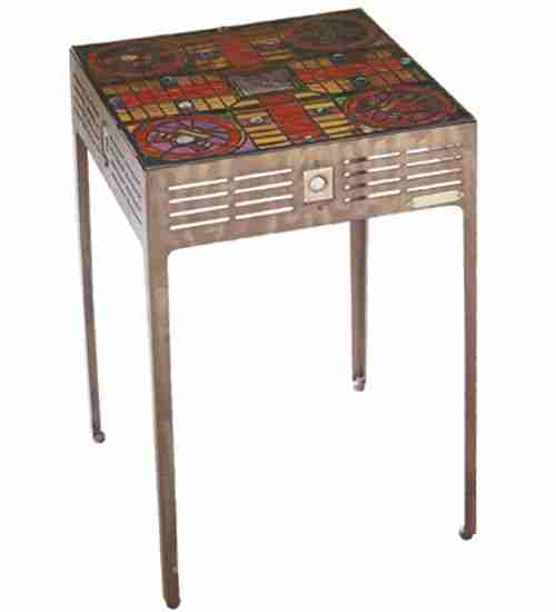 Meyda Tiffany 32482 26.5 Inch H X 17 Inch W Parcheesi Table