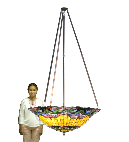 Meyda Tiffany 23862 48 Inch W Corona Inverted Pendant