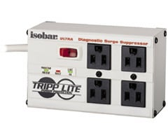 Tripp Lite 4-Outlet Isobar Surge Suppressor ISOBAR-4 ULTRA