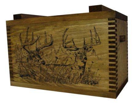Evans Sports TC1-66 Standard Ammo/Accessory Case - Two Trophy Deer Imprint