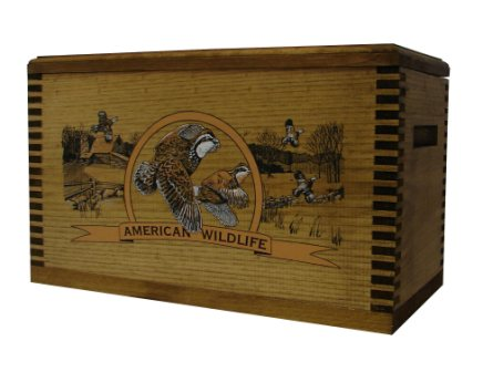 Evans Sports TC19-84 Ammo/Accessory Case with Shaped Top - Color Wildlife Quail