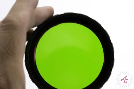 AE Light PL/Green Lens Green Lens 560 nm Compatibility with  PL & AEX