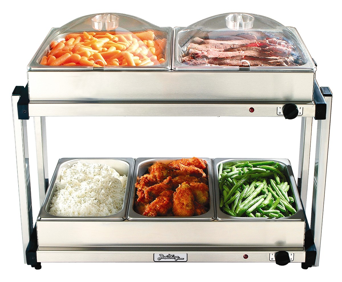 Tray Warmers & Buffet Servers