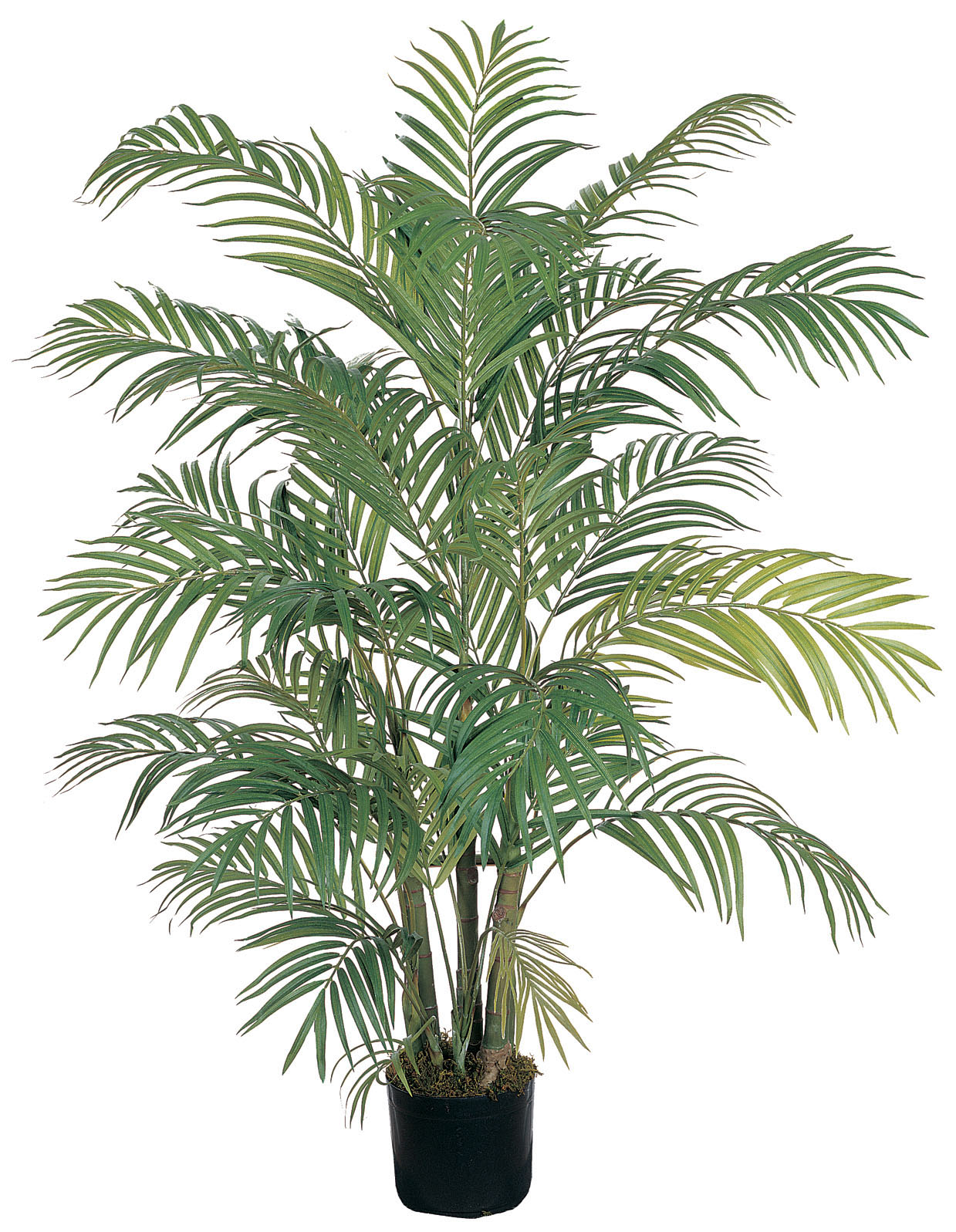 Nearly Natural 5001 Areca Silk Palm Tree 4 Feet