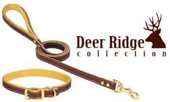 Weaver 06-1313-19 Deer Ridge Leather Collar 1 x 19 Inch