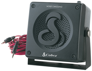 COBRA HG S300 HighGear External Noise-Canceling Speaker