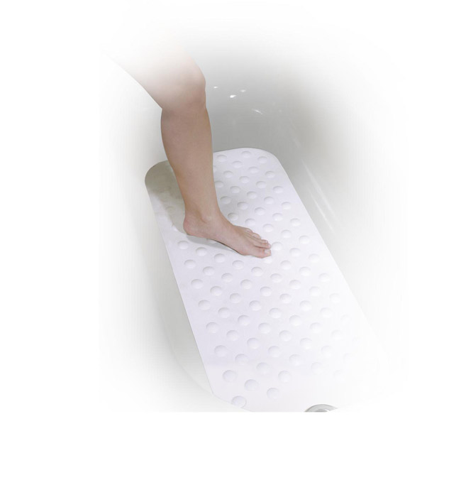 Drive Medical 12950 Bath Mat Large White