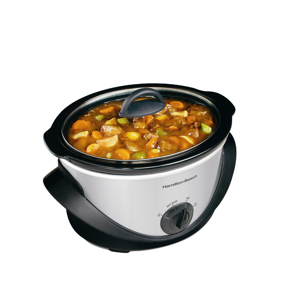 Hamilton Beach 33141 4-quart Oval Slow Cooker