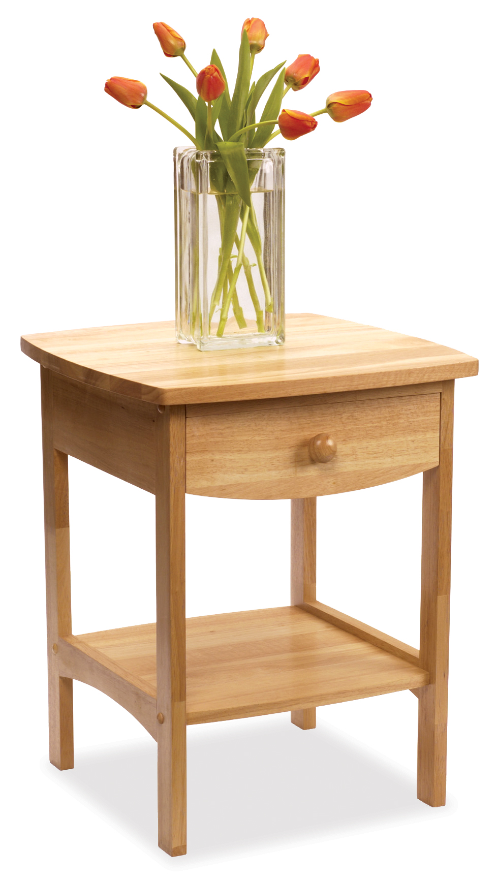Winsome 82218 Beech Beechwood NIGHT STAND NATURAL